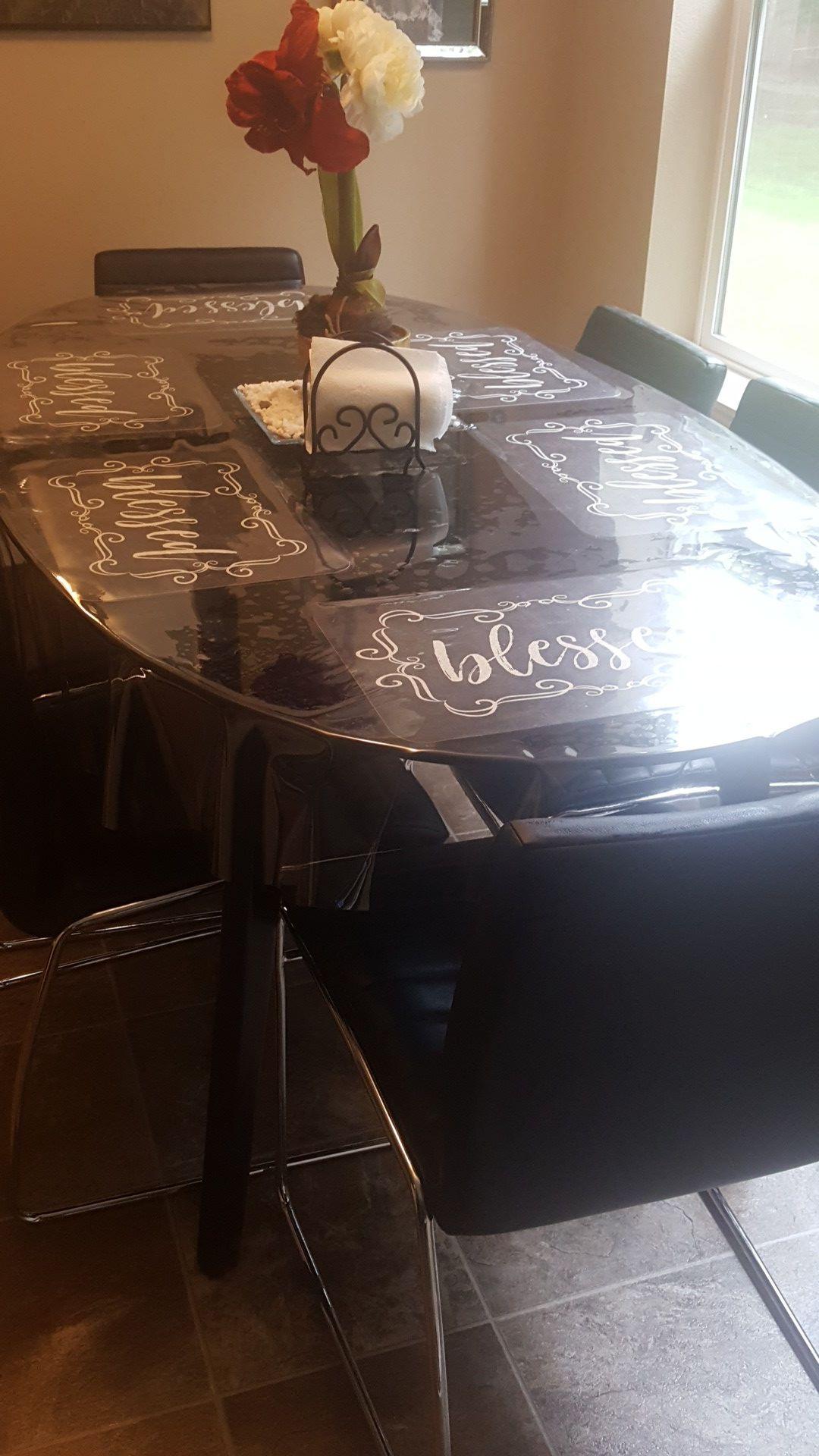 Mesa de vidrio en muy buenas condiciones