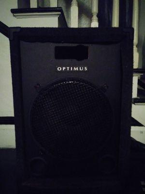 Optimus 15in speaker in box for Sale in Tampa, FL