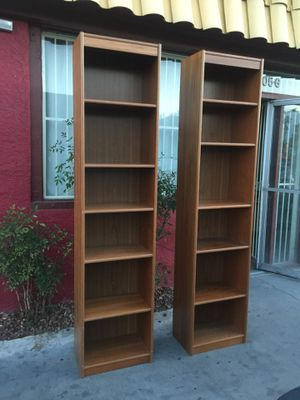 Two Beautiful Teak Bookshelves For In Las Vegas Nv