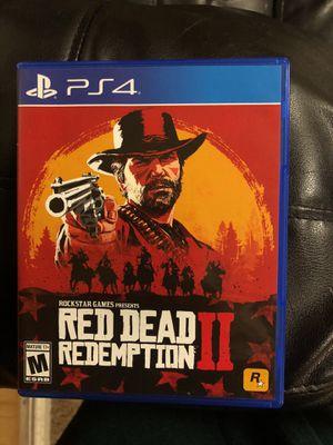 Red dead redemption 2 for Sale in Rockville, MD