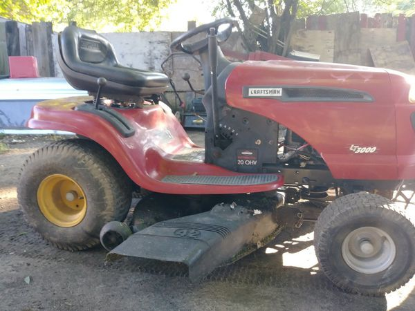 Red Craftsman Riding Lawn Mower For Sale In Richmond Va