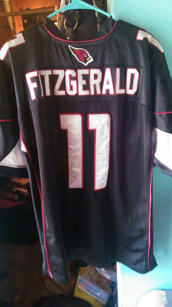 58a502ea3 Number 11 XL Arizona Cardinals Larry Fitzgerald jersey for Sale in ...