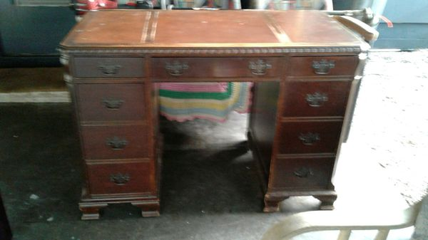 Antique Solid Wood Charles R Sligh Furniture Company Holland Michigan