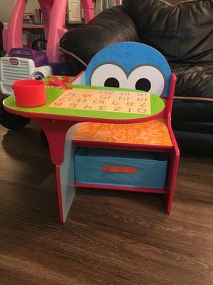 Sesame toddler baby chair desk table like new for Sale in Alexandria, VA