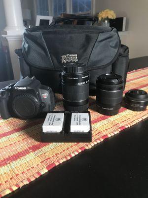 Canon EOS rebel T5i kit for Sale in Rockville, MD