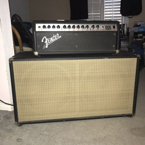 Fender Roc-Pro 1000 with Mojotone cab for Sale in Whittier, CA - OfferUp