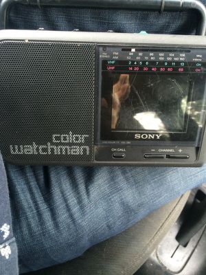 sony mini radio tv for Sale in Arlington, VA