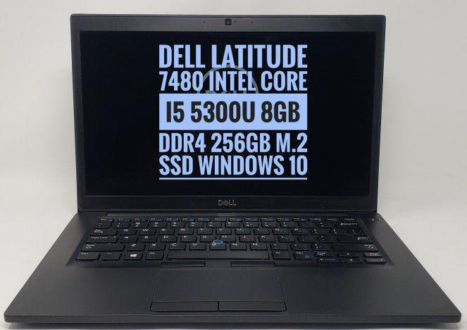 Dell 7480 Windows 10 notebook