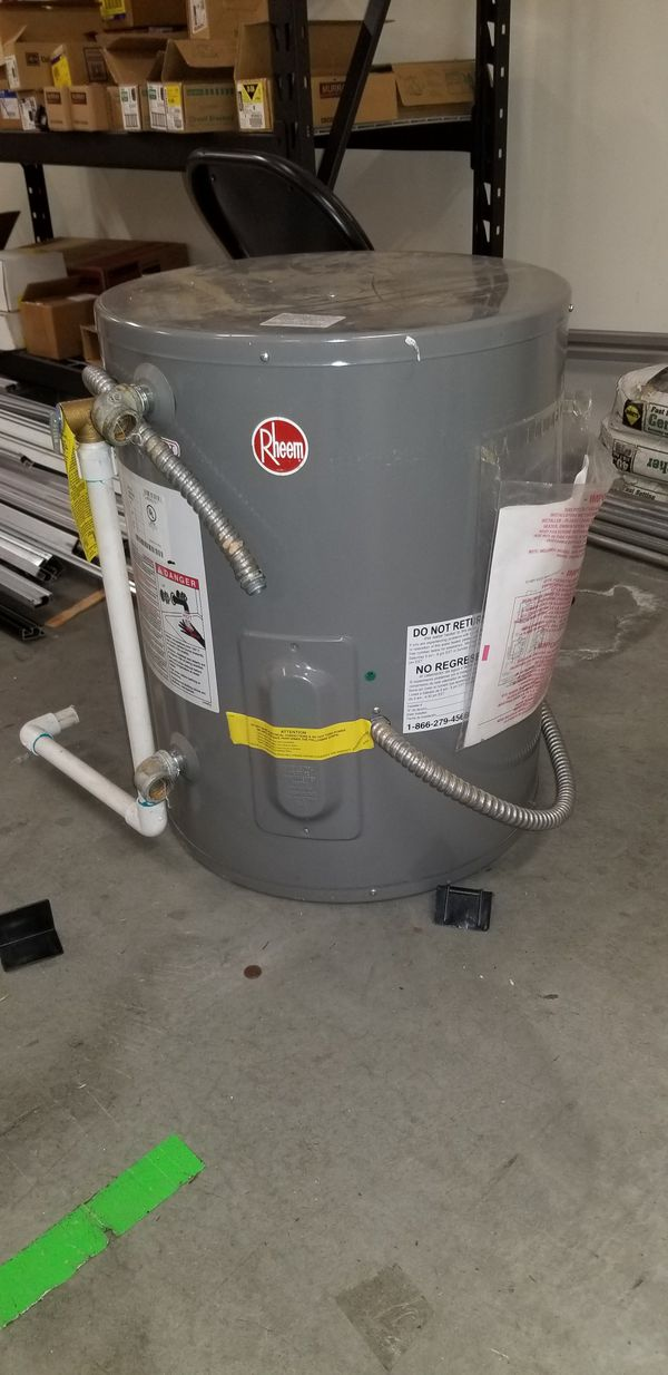 New 20 Gallon Water Heater For Sale In Newark Ca Offerup