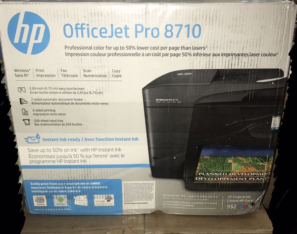 Hp Officejet Pro 8710 All In One Printer New In Box For Sale In