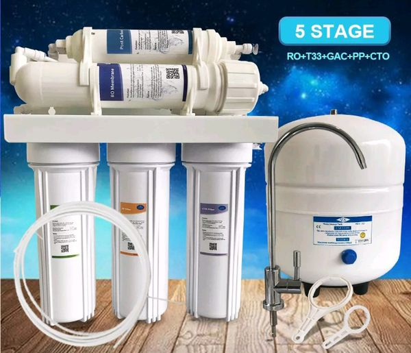 Water Filter 5 Stages (new 280$) Purifying System Clean Fluoride For Sale In Vancouver, WA