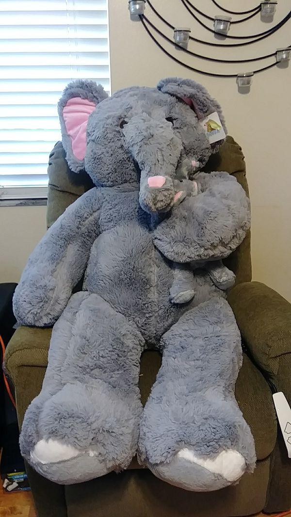 Nwt Giant Stuffed Elephant For Sale In Seminole Fl Offerup