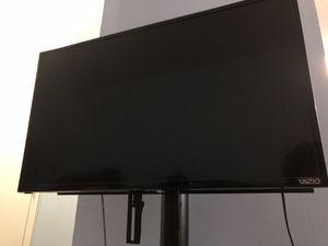 VIZIO & Tempered Glass TV Stand for Sale in Washington, DC