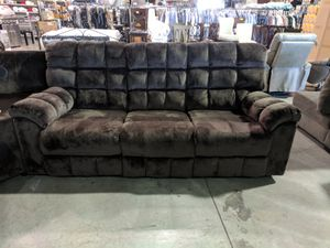 Microfiber Reclining Sofa Set for Sale in Portland, OR