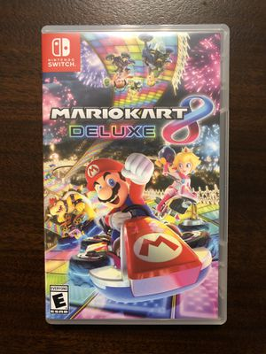 Mario Kart 8 Deluxe for Nintendo Switch for Sale in Dallas, TX