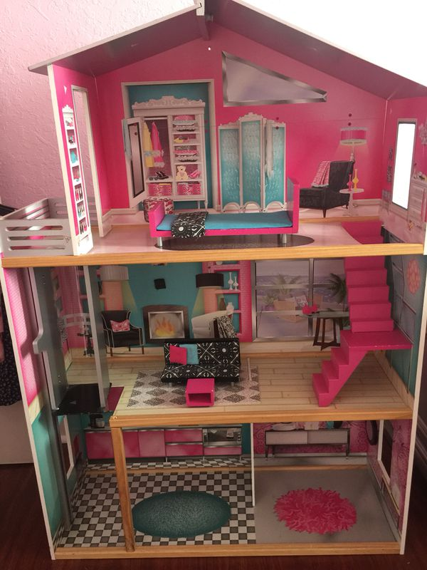 Kidkraft Dollhouse For Sale In Cutler Bay Fl Offerup