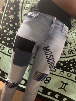 Patched jeans by me Thumbnail
