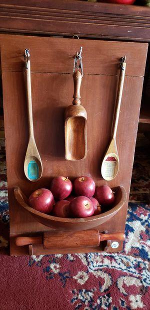 Apple plaque wood for Sale in Farmville, VA