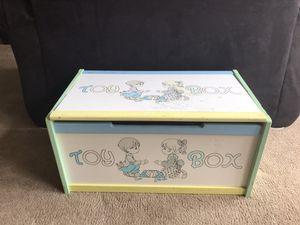 Photo Child's Toy Box / Precious Moments