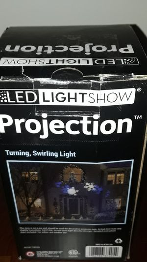 Lightshow Projection - Turning, Swirling Light(Snowflakes) for Sale in Rockville, MD