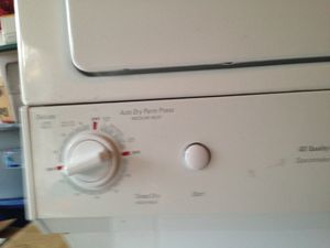 GE stackable washer dryer for Sale in Washington, DC