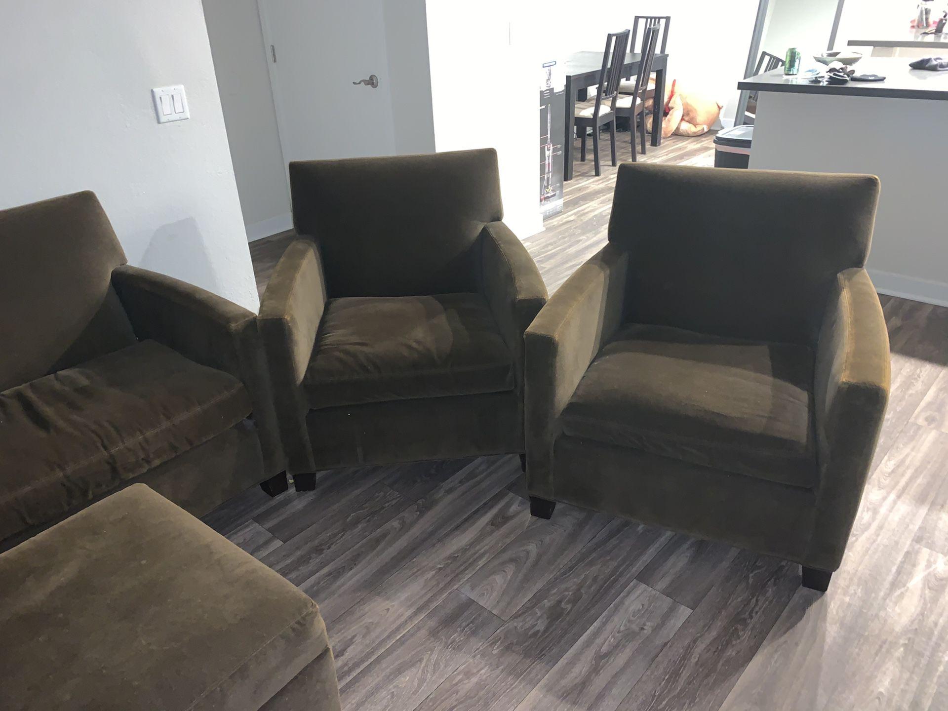 Four piece couch set