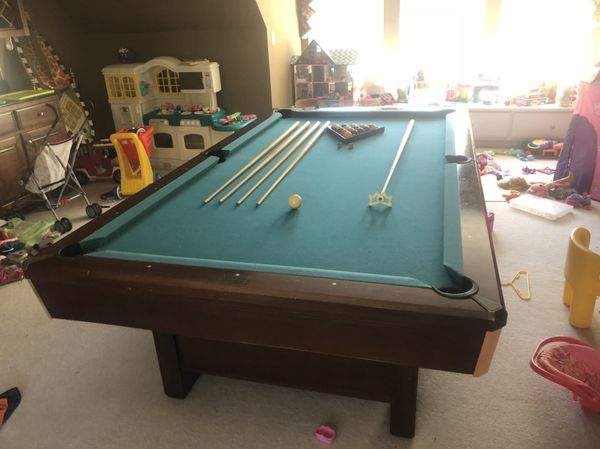 Pool Table Sherwood By Brunswick For Sale In Simpsonville SC - Brunswick sherwood pool table