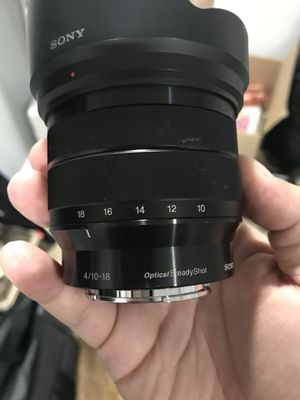 Sony 10-18mm Lens (trade for sony Lens) for Sale in Fort Washington, MD