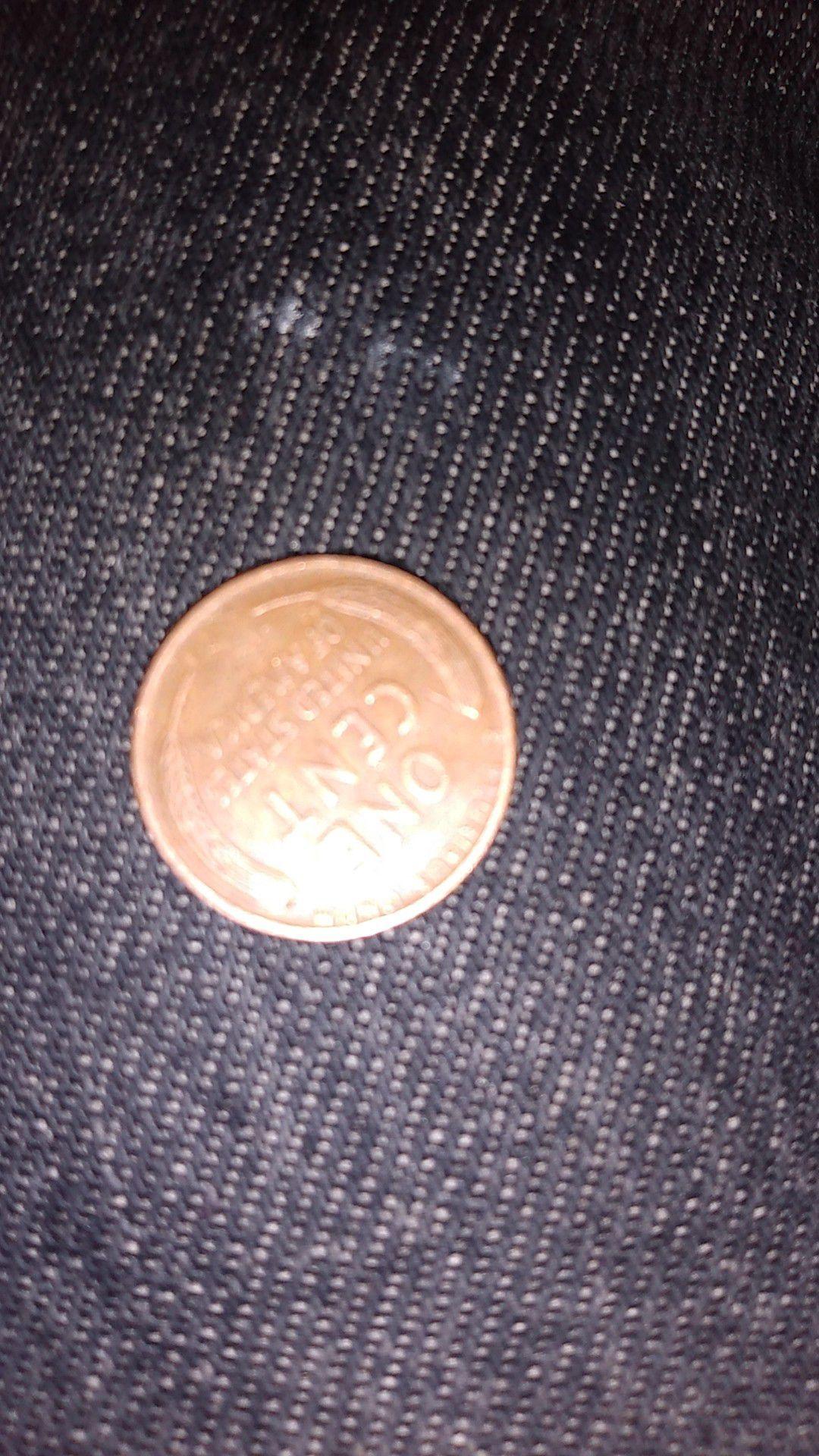 1956 wheat penny