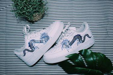 Nike Air Force 1 Blue Dragon Thumbnail