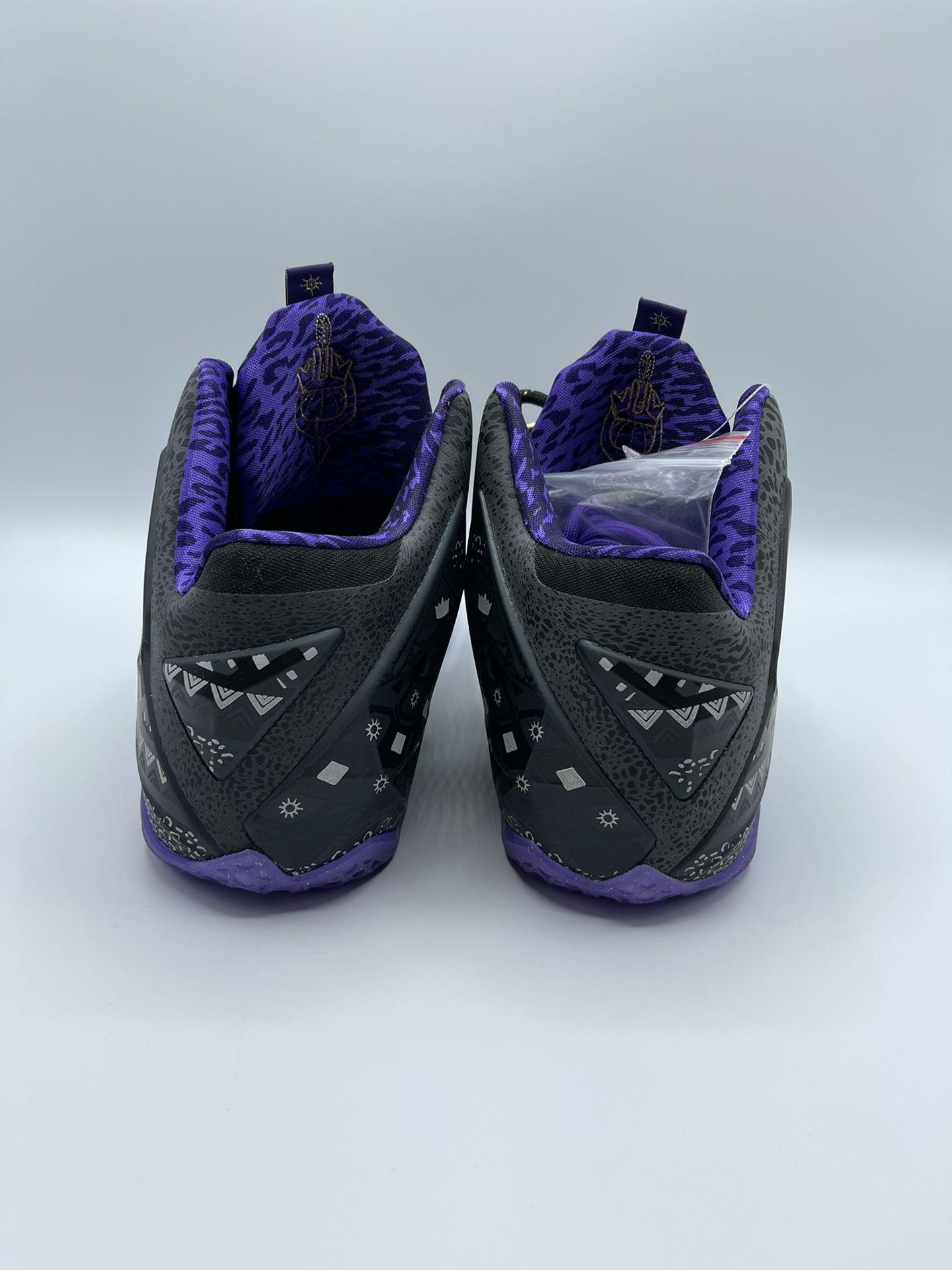 "LeBron XI ""BHM"" | 100% Authentic | Mens Size 10"