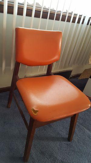 Mid-century modern Orange desk chair for Sale in McKees Rocks, PA