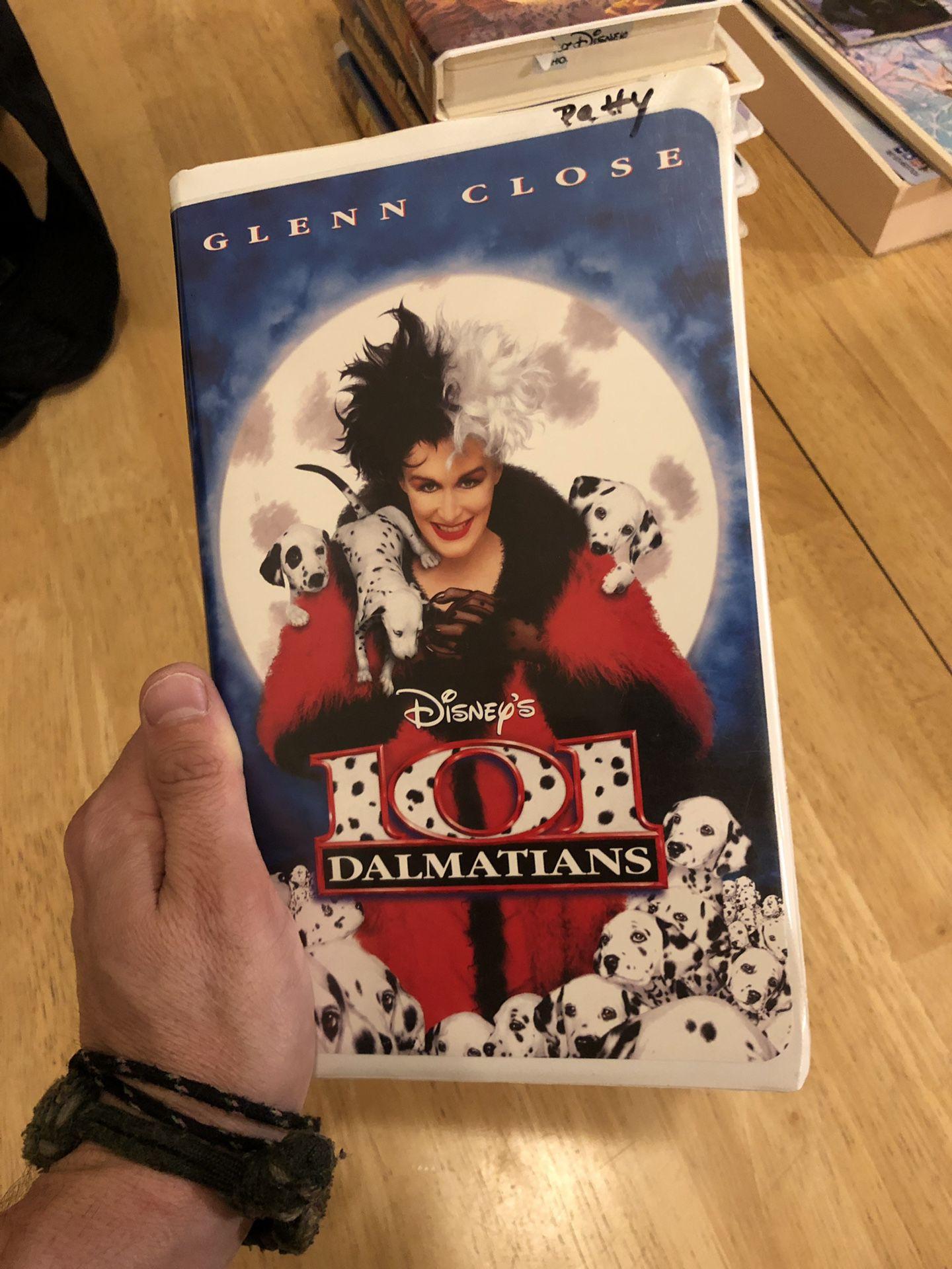 Disney movies VHS