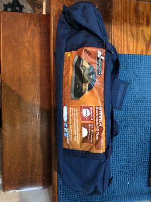 Ozark Trail camping tent - backpack sleeps 4 for Sale in Falls Church, VA