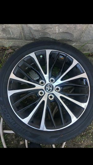 18 inch rims and tires (Toyota) for Sale in Oxon Hill, MD