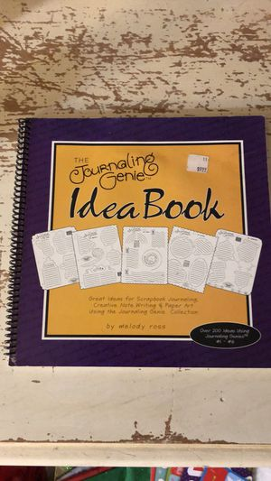 Journaling Genie Book & Template for Sale in Oswego, IL