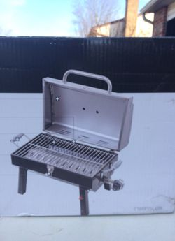 Portable gas grill charbroil brand new in box never opened. Thumbnail
