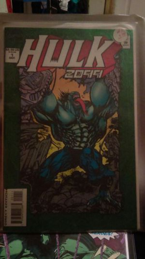 Hulk 2099/ Hulk Unlimited for Sale in Seattle, WA