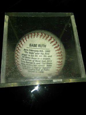 Babe Ruth ball no signatures, used for sale  Tulsa, OK