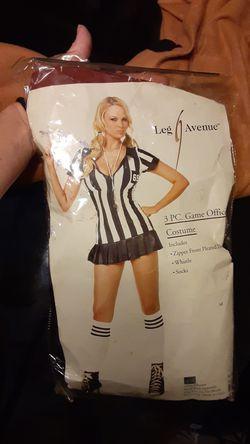 Women's sexy referee costume Thumbnail