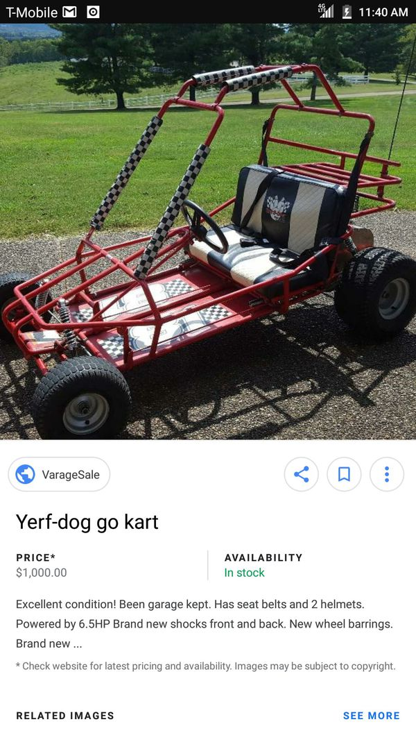 yerf dog go kart for Sale in San Bernardino, CA - OfferUp