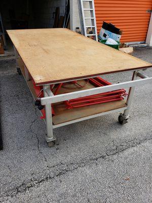 aluminum custom work table 4x8 for Sale in Sunrise, FL