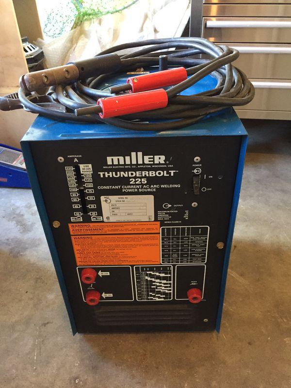 Miller Stick Welder 225 for Sale in Longwood, FL - OfferUp