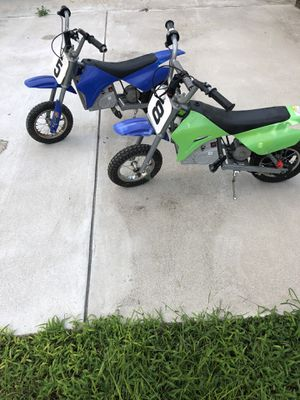 2 KIDS MOTORCYCLE BLUE & GREEN (ZR350) 12hr Sale $100 for Sale in Washington, DC