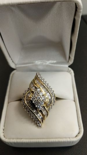 LARGE LOTS OF DIAMONDS RING for Sale in Leesburg, VA