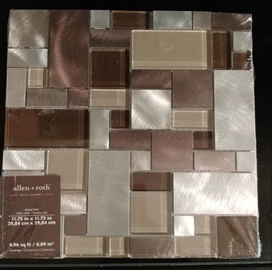 Roth Metal Elements Cubes Mosaic For