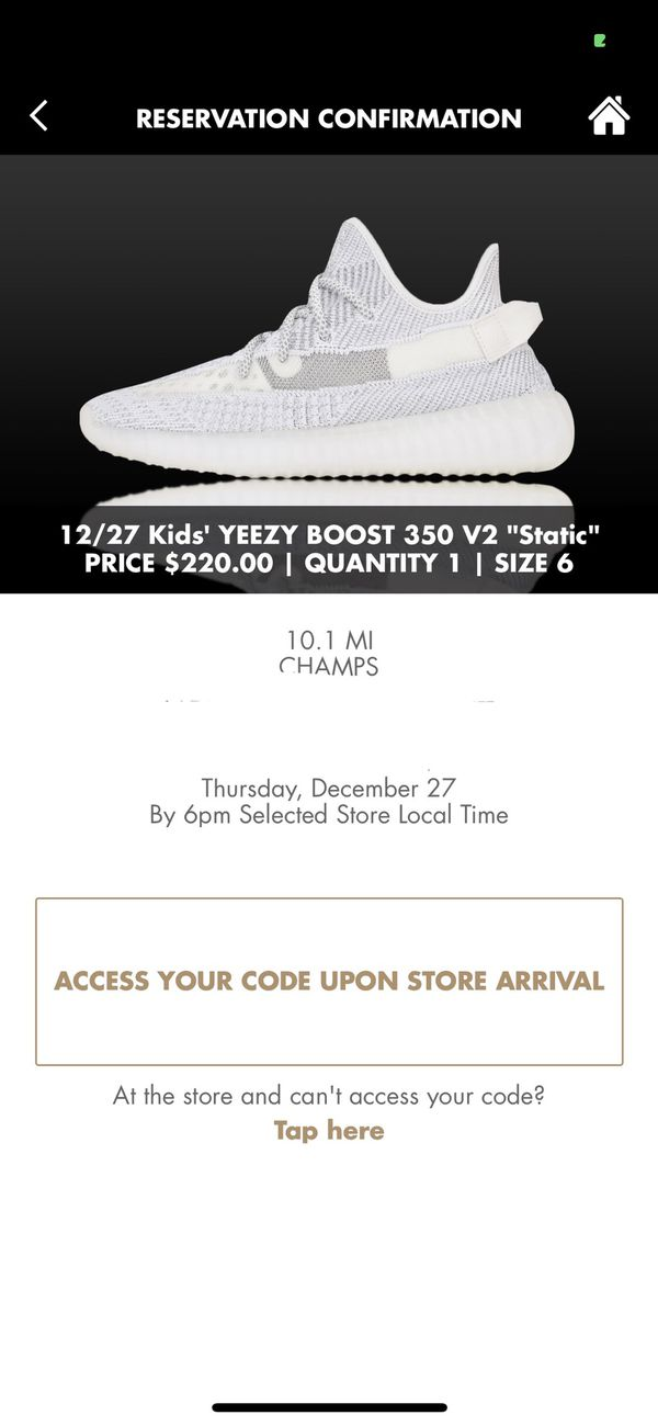 """watch 8012d ea182 Adidas Yeezy Boost 350 V2 """"STATIC"""" size 6 for Sale in Westmont, IL - OfferUp"""