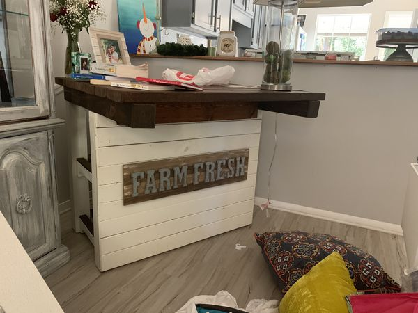 Mobile Bar Shabby Chic.Shabby Chic Bar Wood For Sale In Pensacola Fl Offerup