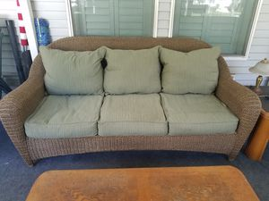 WICKER PATIO SOFA for Sale in Lake Worth, FL