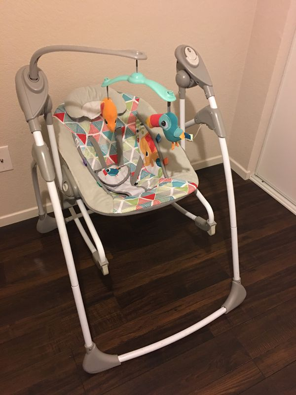 cea4580217a Baby Swing and Bouncer  50 OBO for Sale in Costa Mesa